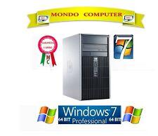 COMPUTER HP DC5850 TOWER  / CPU AMD PHENOM X 3 8400 / WINDOWS 7 PRO LICENZA