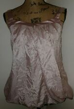Nwt Love Culture Silk Blouse Womens S Small Pink Top Boho All Categories