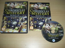 Chronicles Of Mystery - SECRET OF THE LOST KINGDOM  Pc Cd Rom FAST DISPATCH