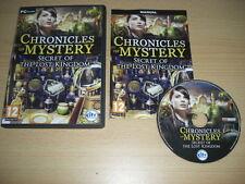 CHRONICLES OF MYSTERY-SEGRETO DEL REGNO PERDUTO PC CD ROM SPEDIZIONE VELOCE