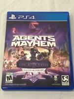 Agents of Mayhem Ps4 (Sony PlayStation 4, 2017)