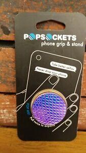 PopSockets Universal Phone Grip & Stand - Iridescent Snake Golden Pink - 800323