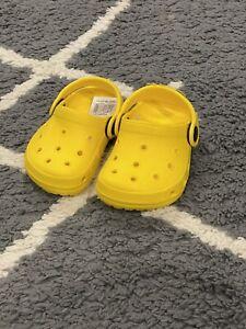 Baby Croc Like Shoe - SIZE 4 NEW