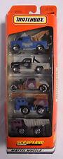 Matchbox Scrapyard 5 Pack Vehicle Set Junkyard