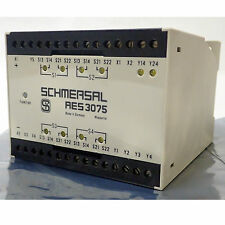 SCHMERSAL SERIES AES 3075 MICRO PROCESSOR BASED SAFETY CONTROLLER/DOOR MONITOR