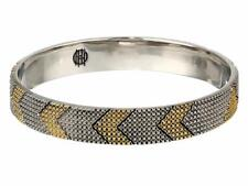 House of Harlow 1960 Thin Arrow Bangle Bracelet in Gold and Silver
