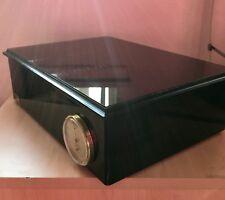Hydromist Jeffrey Scott Polished Wooden Finish Vintage Cigar Humidor Box