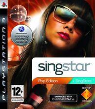 Singstar-POP Edition (jeu PS3) * bon état *