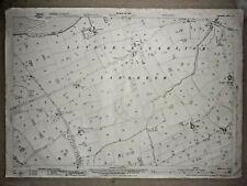Old Antique Ordnance Map 1937 Lancashire LI.4 Little Eccleston with Larbreck ...