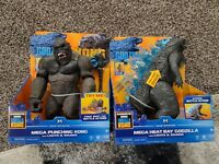 2021 Kong Vs Godzilla Mega Heat Ray Godzilla Mega Punching Kong Lights & Sounds