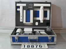 Maletín de aluminio patrón maleta con contenido Alu notas clave fesnterbau türenbau #18876