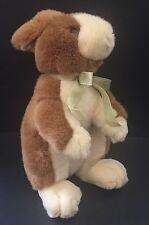 Commonwealth Elegant Bunny Rabbit Plush Stuffed Animal 1999 Toy Brown White