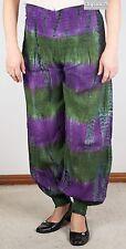 New Tie Dye Harem Cotton Multi-Coloured Pants (Gypsy Hippy/Boho)