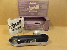 New-Old-Stock Cinelli Sesamo Stem...Black/Silver Finish w/Silver Decals (110 mm)