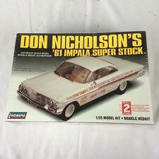 "LINDBERG "" DYNO DON NICHOLSON "" 61 IMPALA BUBBLE TOP SUPER STOCK ""409"" NIB"