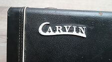 1980's Carvin vintage hardshell case USA