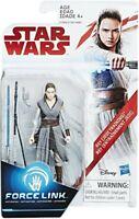 "Star Wars Force Link Rey Jedi Training 3.75"" Action Figure BNIB Disney Hasbro"