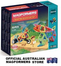 Genuine MAGFORMERS Mountain Adventure Set 32 pcs - 3D Magnetic construction