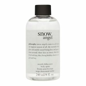 NEW! PHILOSOPHY SNOW ANGEL BODY SPRITZ WITH PUMP 240ml/4floz