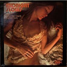WILD BILL DAVIS/BUDDY TATE: Midnight Slows Vol. 2-NM1978LP FRENCH IMPORT