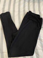 lularoe tc leggings solid Black color