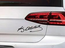 Türkei Sticker Mustafa Kemal Atatürk Imza Unterschrift Türkiye Auto Aufkleber