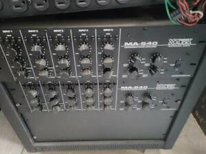 Crest Audio MA-540 5 Channel 4 Zone Mixer Amplifier (2 Available)