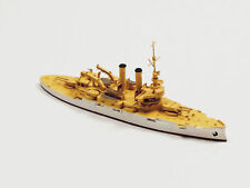 Navis 310 Us Battleship Idaho Bb-24 White/Gold 1/1250 Scale Model Ship