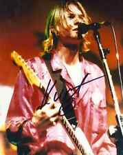 Kurt Cobain Nirvana Signed PP Autograph Print Hologram & Certificate Dave Grohl