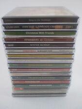 LOT of 17 Christmas / Holiday CD's various artists crooners John Tesh biggest