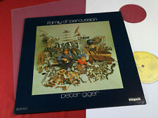 Peter Giger  FAMILY OF PERCUSSION  -  LP Nagara mix 1010 n Germany 1976 sehr gut
