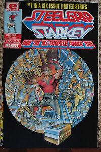 Epic Comics STEELGRIP STARKEY AND THE ALL-PURPOSE POWER TOOL #1 - Fine