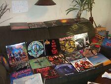 25 HEAVY METAL LP LOT w.METALLICA  MOTLEY CRUE, IRON MAIDEN, MEGADETH + CDs