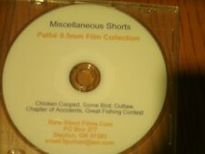 Rare Silent Film Collection 9.5mm Miscellaneous Shorts
