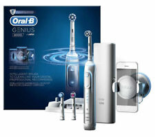 Oral-B Genius 8000 Electric Toothbrush- Silver