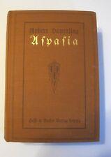 Buch Aspasia von Robert Hamerling Künstler und Liebesroman