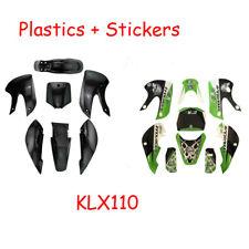 7 PCS COMPLETE PLASTIC FENDER KIT FOR KLX110 KX65 KAWASAKI 125cc 140cc 160cc