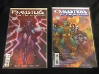 Masters of the Universe #3 All Covers A B (Jan 2003, Image Comics) VF/NM He-Man