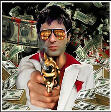 3D POP ART  SCARFACE