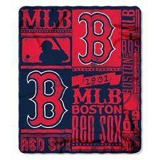 Boston Red Sox 50x60 Fleece Blanket - Strength Design [NEW] MLB Throw Warm