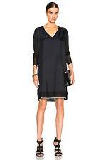 NWT Rag & Bone  Long Sleeve Maude100% silk  Dress Sz XXS Retail 425