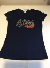 ABERCROMBIE AND FITCH Filles L T Shirt Navy