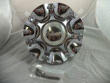 Pacer Wheels Chrome Custom Wheel Center Caps # 1260-0 / 1269-4 (SET OF 4)