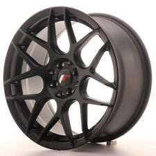 Japan Racing JR18 Alloy Wheel 17x8 - 4x114.3 / 4x100 - ET35 - Matt Black