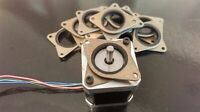 Creality CR-10 NEMA 17 damper upgrade 3D printer 3 dampers + mounting screws