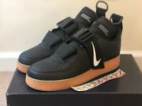 Nike Air Force 1 Utility Black Gum Mens sizes AO1531 002