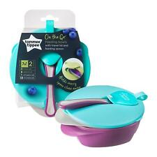 Tommee Tippee Baby Feeding Bowls And Spoon Set