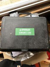 Greenlee Cmgrt 100 Ground Resistence Tester