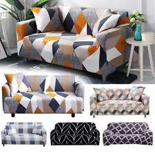 Elastic Stretch Sofa Cover Printed Sofa Slipcovers  for Living Room Sectional