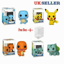 UK FUNKO POP Pokemon Pikachu Squirtle Action Figures Collection Toys Gift W/Box